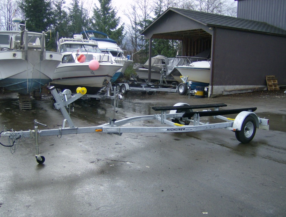 Highliner boat trailer